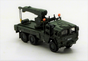 MAN KAT1 truck 6x6 mountains mobile crane