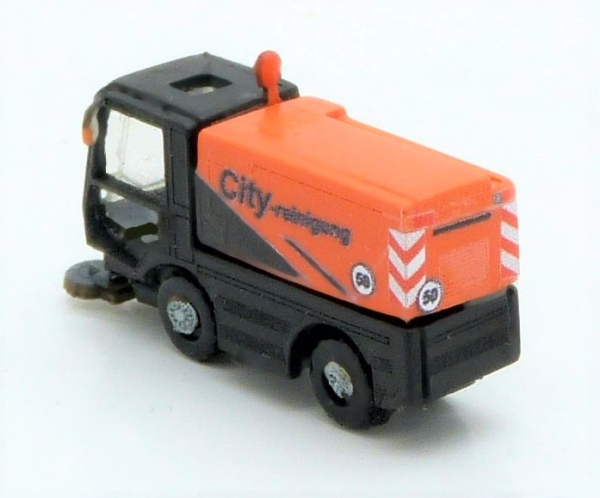 Small city sweeper